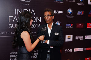 Vinod Nair at  India Fashion Summit 2016